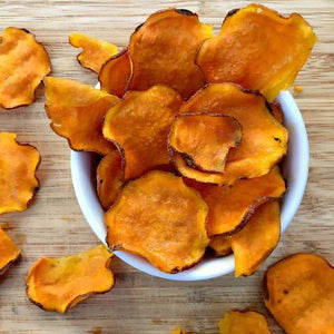 Sweet Potato Chips organic vegetable chips Sweet Summer Farms