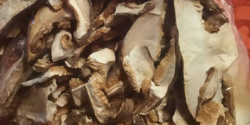 Sliced Dried Shiitake Mushrooms