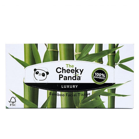 Cheeky Panda 100% Bamboo Facial Tissue Flat Box