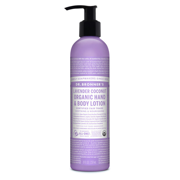 Dr. Bronner's Lavender Coconut Organic Body Lotion 237ml