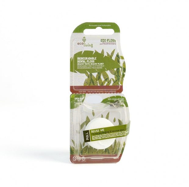 EcoLiving Eco Floss Plant-Based Vegan Dental Floss - Single