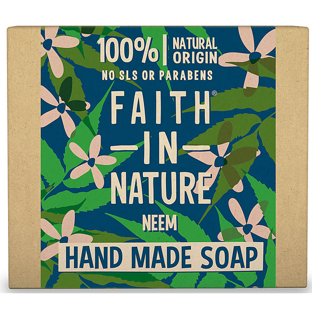 Faith in Nature Neem Soap Bar 100g