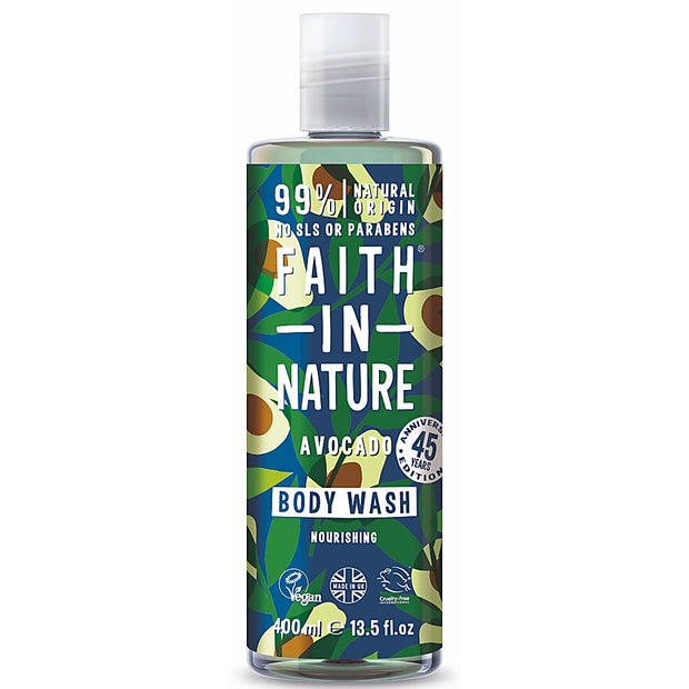 Faith in Nature Avocado Body Wash - 400ml