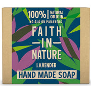 Faith in Nature Lavender Soap Bar - 100g