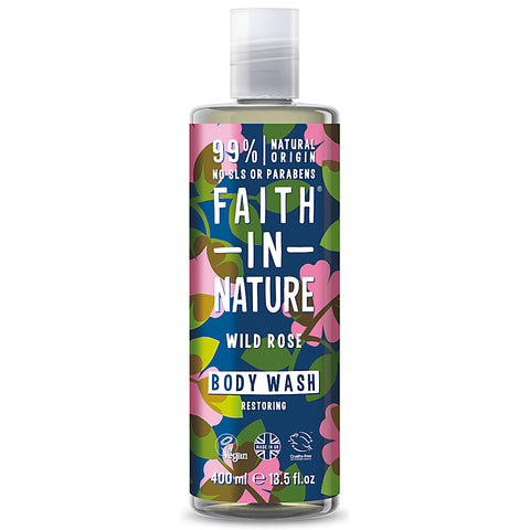 Faith in Nature Wild Rose Body Wash - 400ml