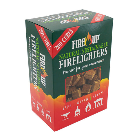Fireup Natural Sustainable Firelighters – 200s