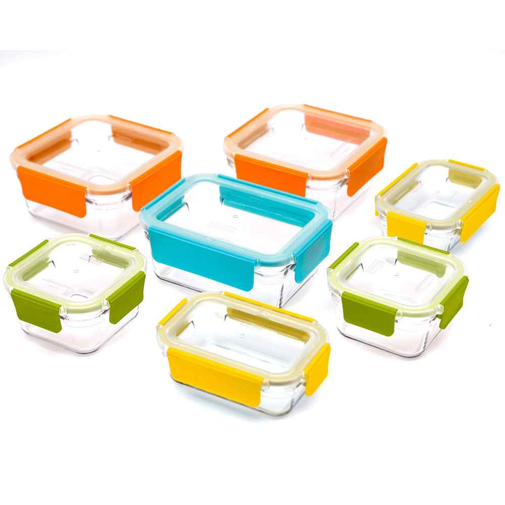 Glasslock Premium Glass Food Storage Boxes - 18 Piece