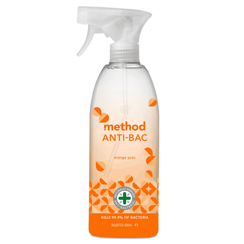 Method Anti-Bac Multi-Surface Cleaner Orange Yuzo - 828ml