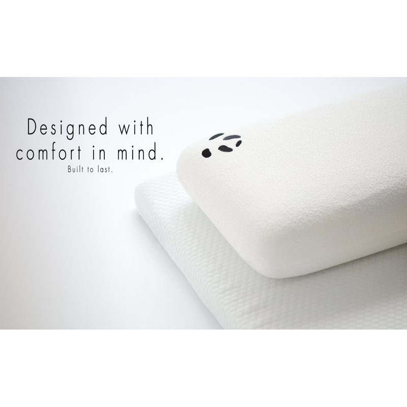 Panda Luxury Memory Foam Bamboo Pillow