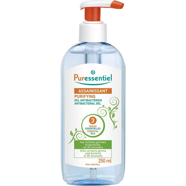 Puressentiel Purifying Antibacterial Gel Hand Sanitiser - 250ml