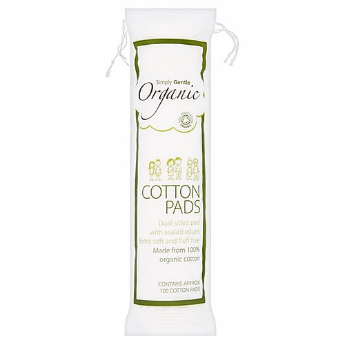 Simply Gentle Organic Cotton Pads - 100s