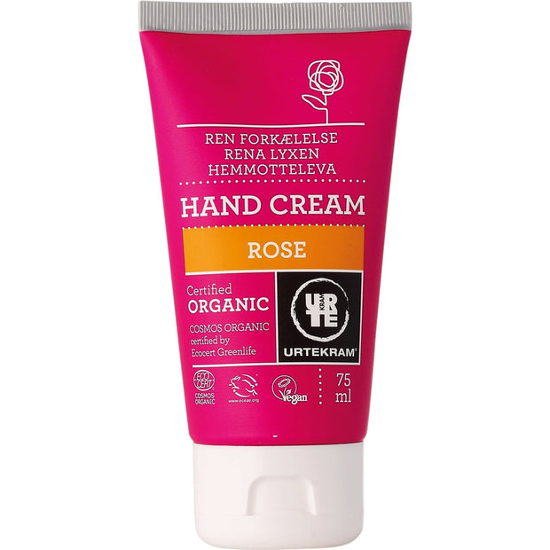 Urtekram Organic Rose Hand Cream - 75ml