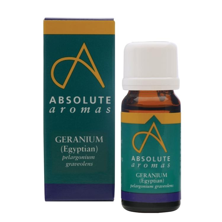 Absolute Aromas Geranium Egyptian Essential Oil 10ml