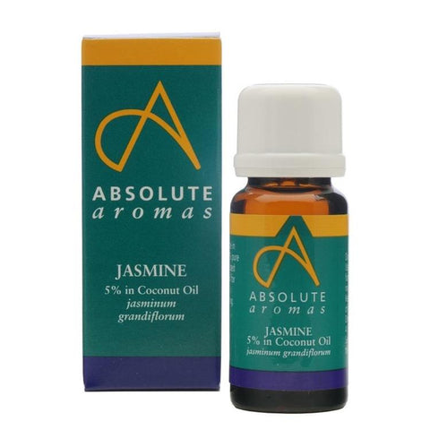 Absolute Aromas Jasmine 5% Essential Oil 10ml