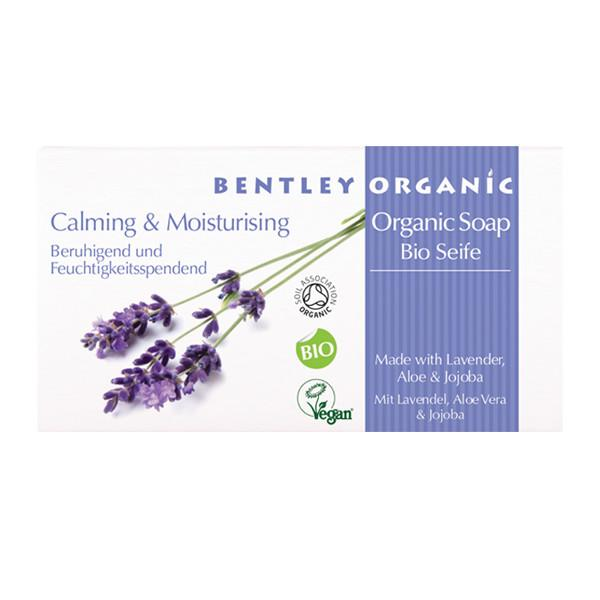 Bentley Organic Calming and Moisturising Soap Bar 150g