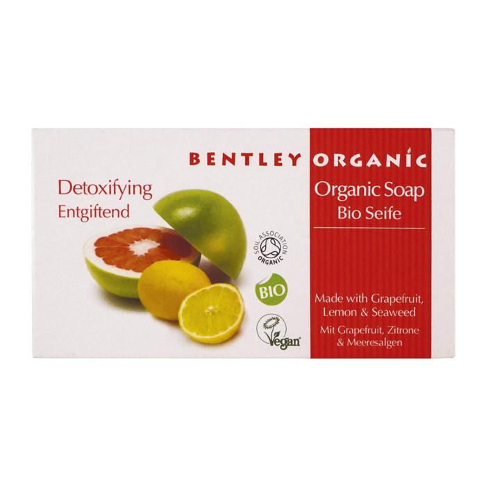 Bentley Organic Detoxifying Soap Bar 150g