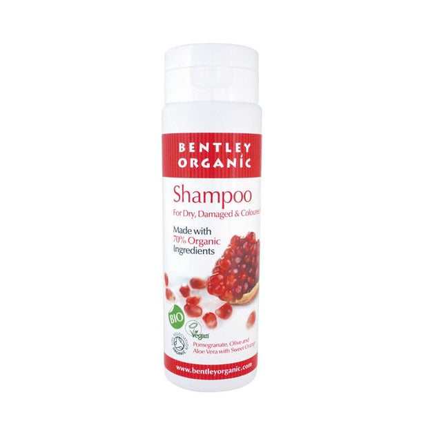 Bentley Organic Dry or Damaged Hair Shampoo 250ml