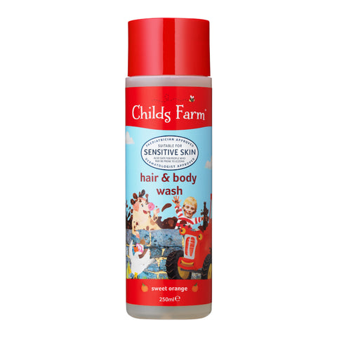 Childs Farm Organic Orange Hair & Body Wash 250ml
