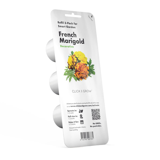 Click & Grow French Marigold Plant Pods