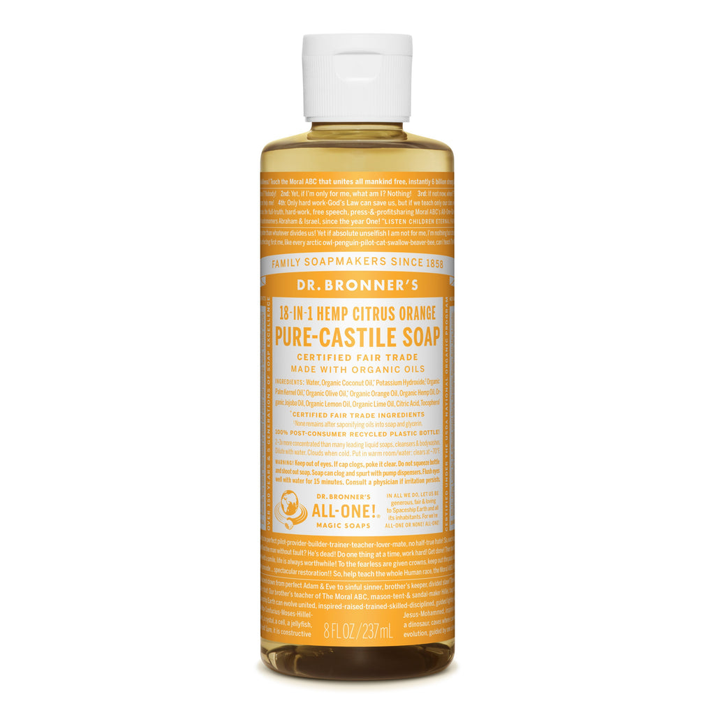 Dr. Bronner's 18-in-1 Citrus Pure Castile Liquid Soap  236ml