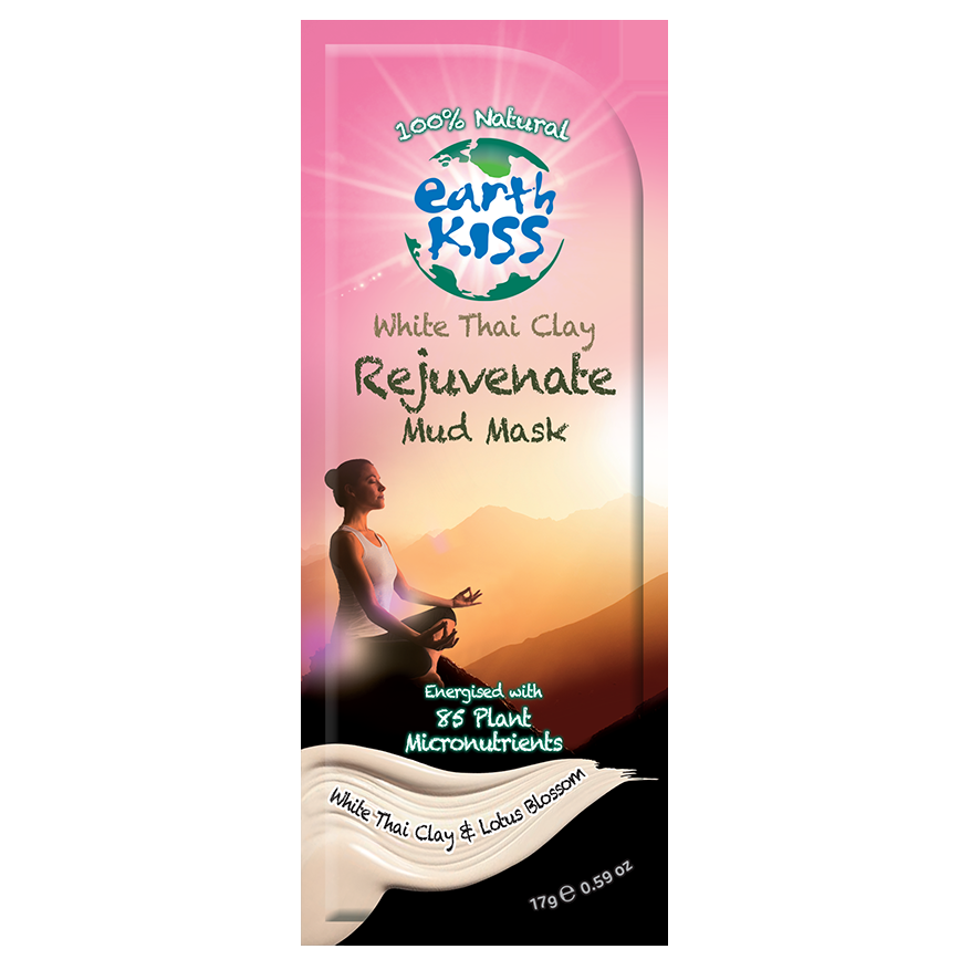 Earth Kiss Rejuvenate White Thai Clay Mask 17g