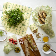 The Food Wrap Co. Vegan Wax Wraps – Harvest Print