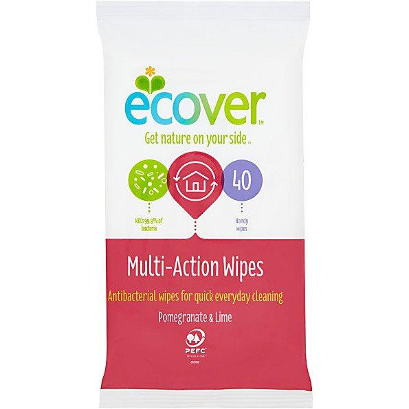 Ecover Antibacterial Wipes 40s