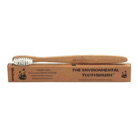 The Enviromental Bamboo Toothbrush - Medium