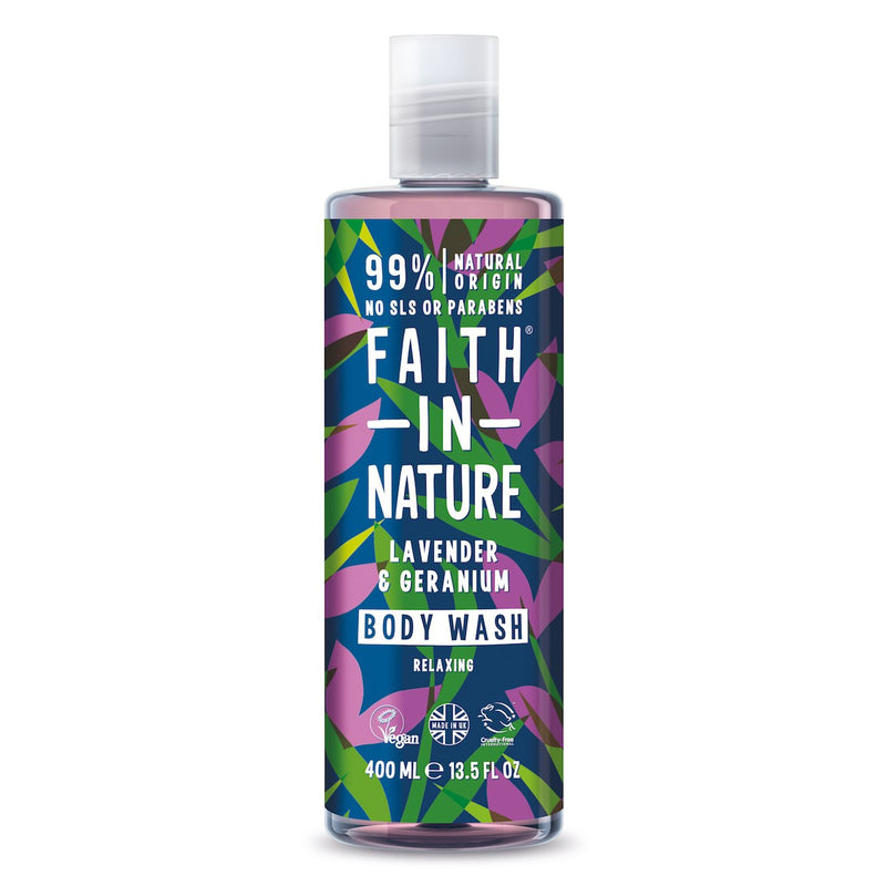 Faith in Nature Lavender & Geranium Body Wash 400ml
