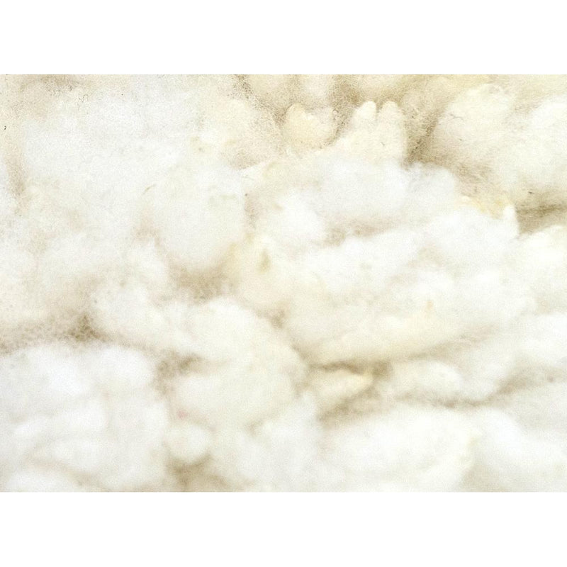 Friendly Fleeces Cream Suffolk Vegan Sheepskin Rug