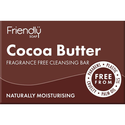 Friendly Soap Cocoa Butter Facial Cleansing Bar - 95g
