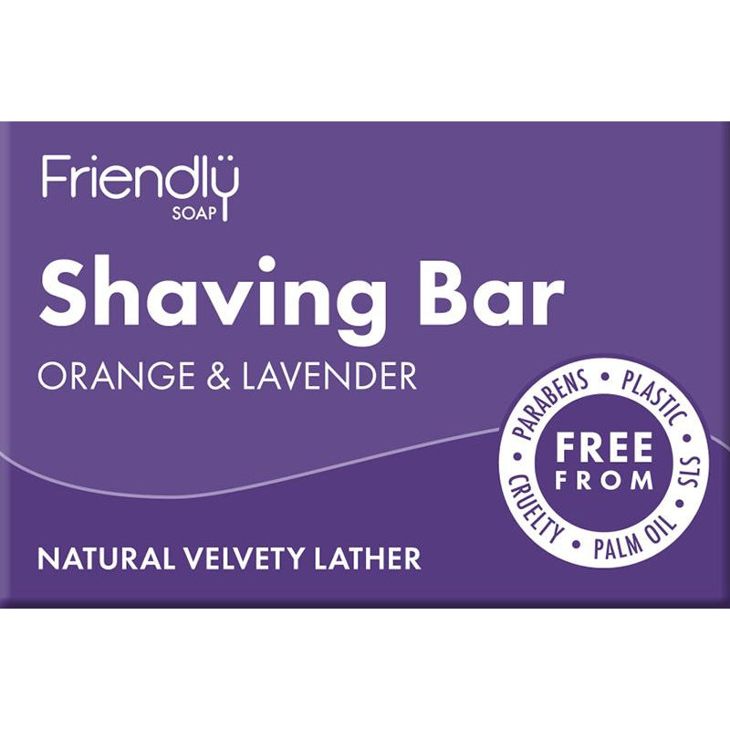 Friendly Soap Shaving Soap Bar - 95g