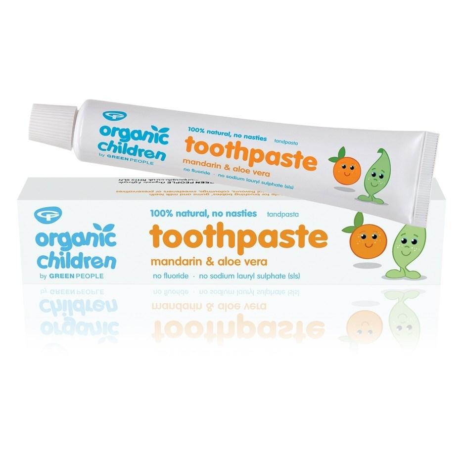 Green People Children Mandarin & Aloe Vera Toothpaste 50ml