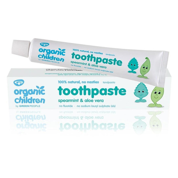 Green People Children Spearmint & Aloe Vera Toothpaste 50ml