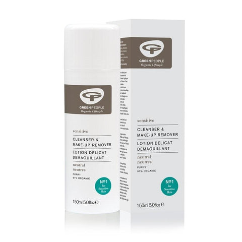 Green People Neutral Scent Free Cleanser & Make Up Remover 150ml