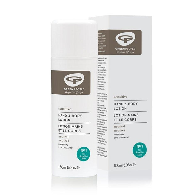 Green People Neutral Scent Free Hand & Body Lotion 150ml