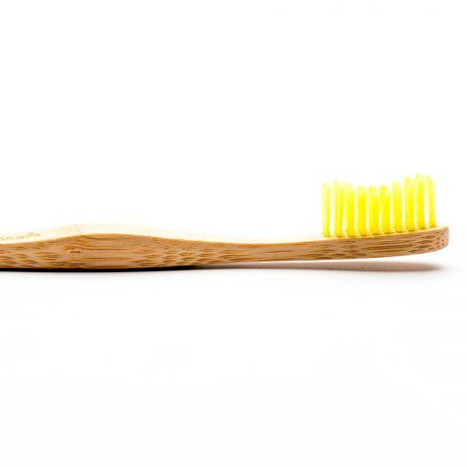Humble Adult Soft Bamboo Toothbrush - Yellow