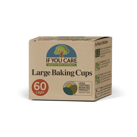 If You Care Large Baking Cups 60s