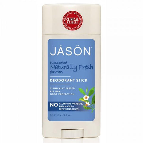 Jason Fresh Unscented Deodorant Stick For Men 71g