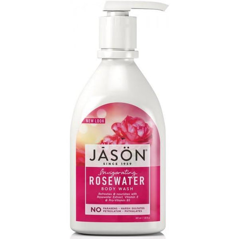 Jason Invigorating Rosewater Body Wash 840ml