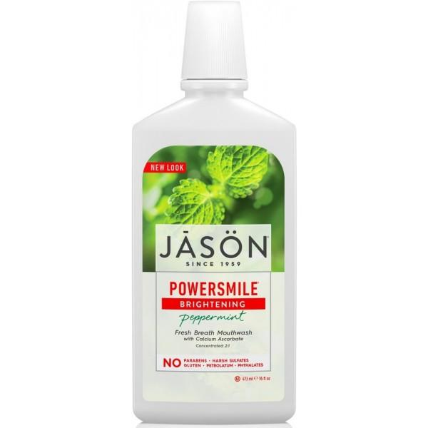 Jason Powersmile Brightening Peppermint Mouthwash 480ml