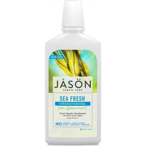 Jason Strengthening Sea Fresh Mouthwash 480ml