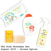 Kids Ecohuman Prepaid Subscription Box Past Box August 2019