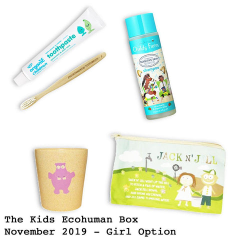 Kids Ecohuman Prepaid Subscription Box Past Box November 2019