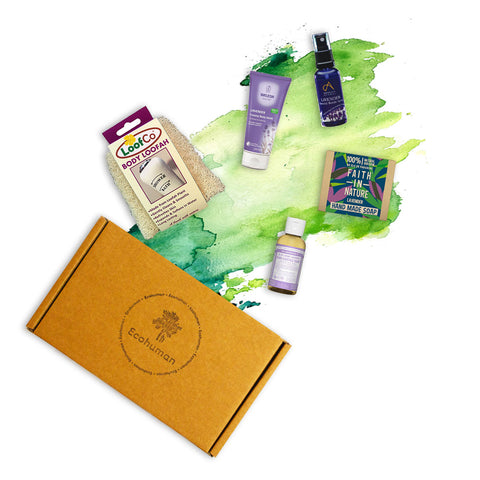 Ecohuman Lovely Lavender Gift Set