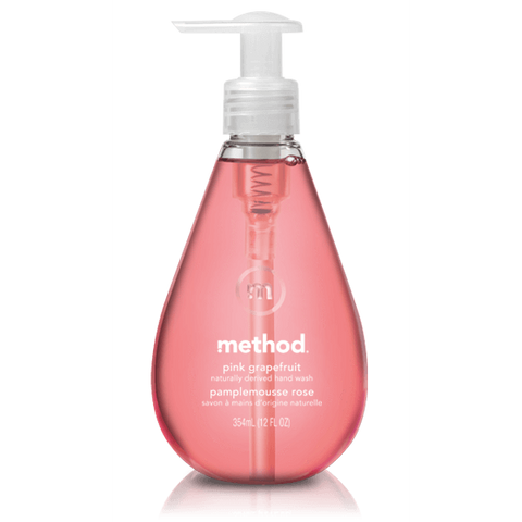 Method Gel Hand Wash Pink Grapefruit 354ml