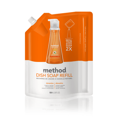 Method Washing Up Liquid Clementine 1024ml