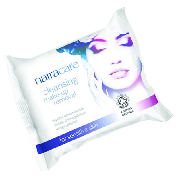 Natracare Cleansing Make-Up Removal Wipes 20s