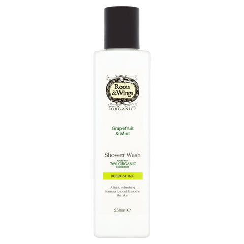 Roots & Wings Refreshing Grapefruit & Mint Shower Wash - 250ml