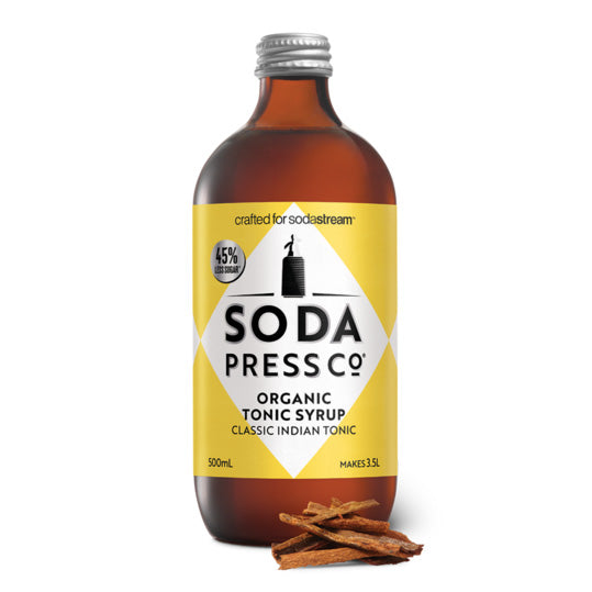Soda Press Organic Classic Indian Tonic Syrup – 500ml